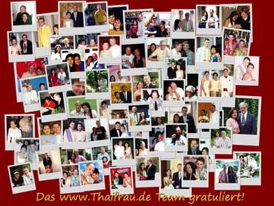 Thai-Deutsche Paare die sich über www.Thaifrau.mobi kennengelernt haben