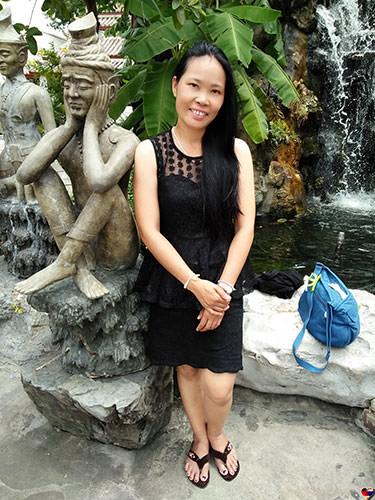 Bild von Thaifrau  Ya
