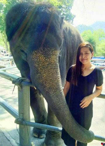 Bild von Thaifrau  Eva